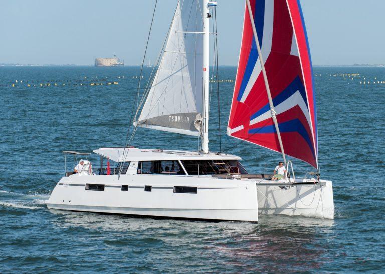 Blown Away under sail