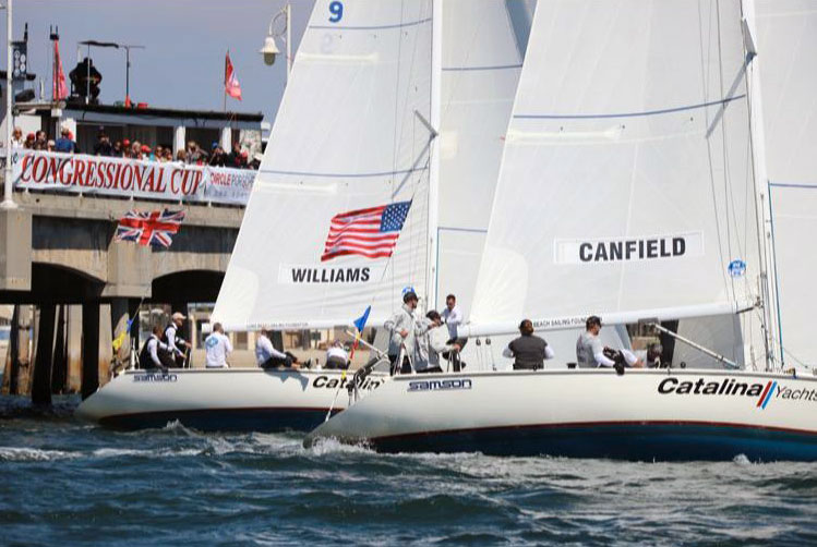Williams and Canfield in Catalina 37s