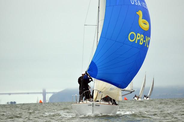 Randall Rasicot - OPB-YC logo on kite