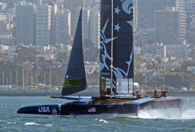 USA SailGP in San Francisco