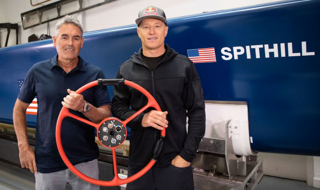 Russell Coutts and Jimmy Spithill