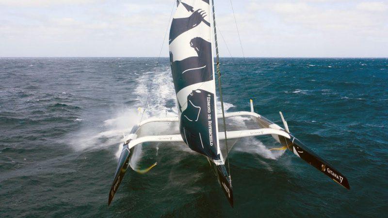 Gitana 17 sailing