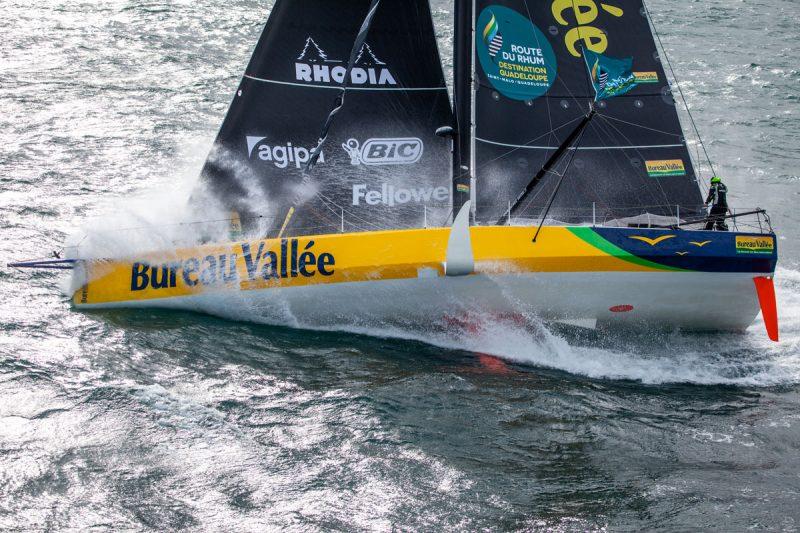 Bureau Vallée sailing