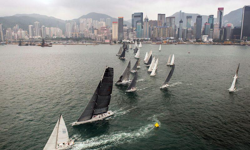 race start in Hong Kong