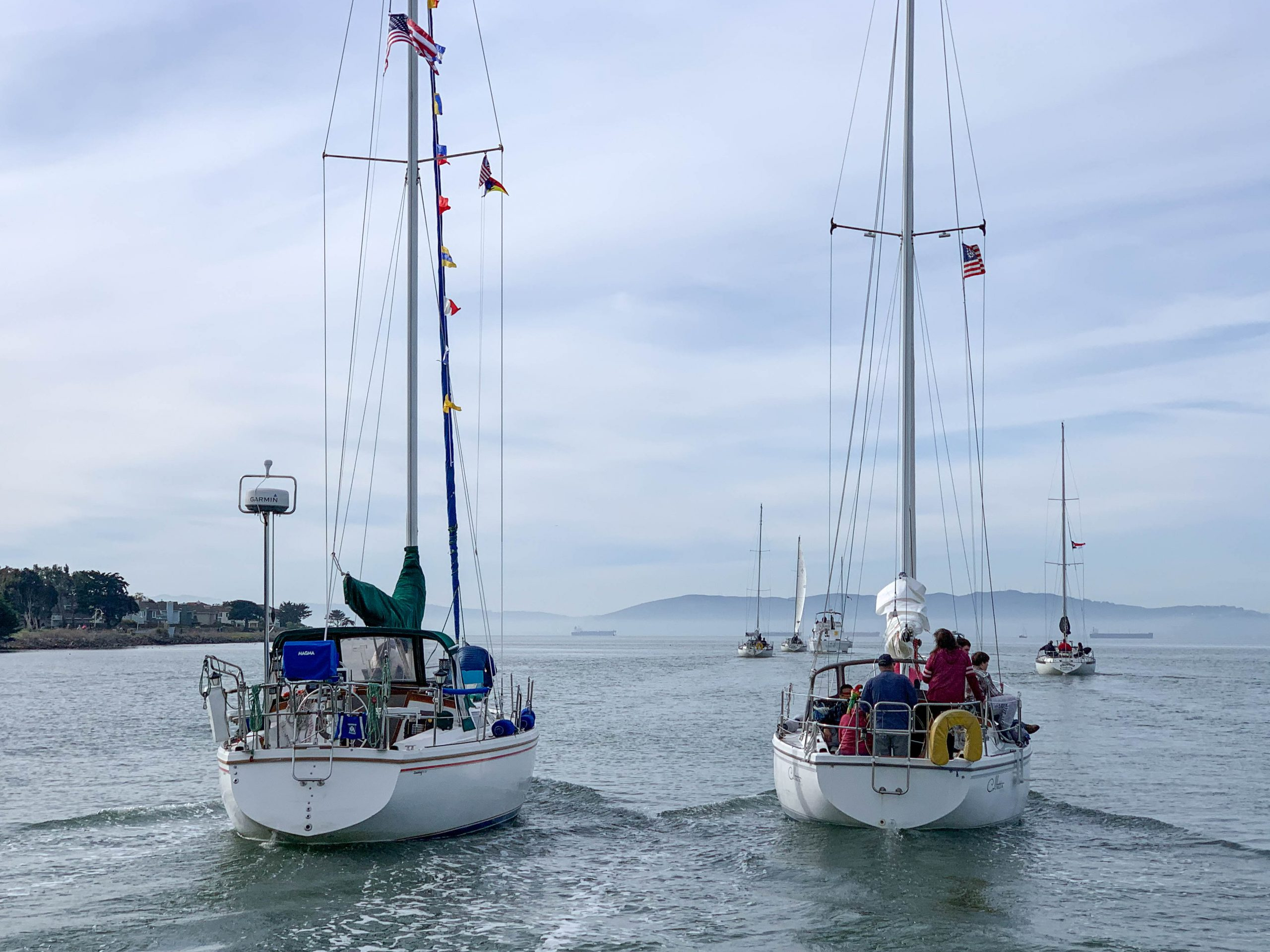 'Round the Island fleet