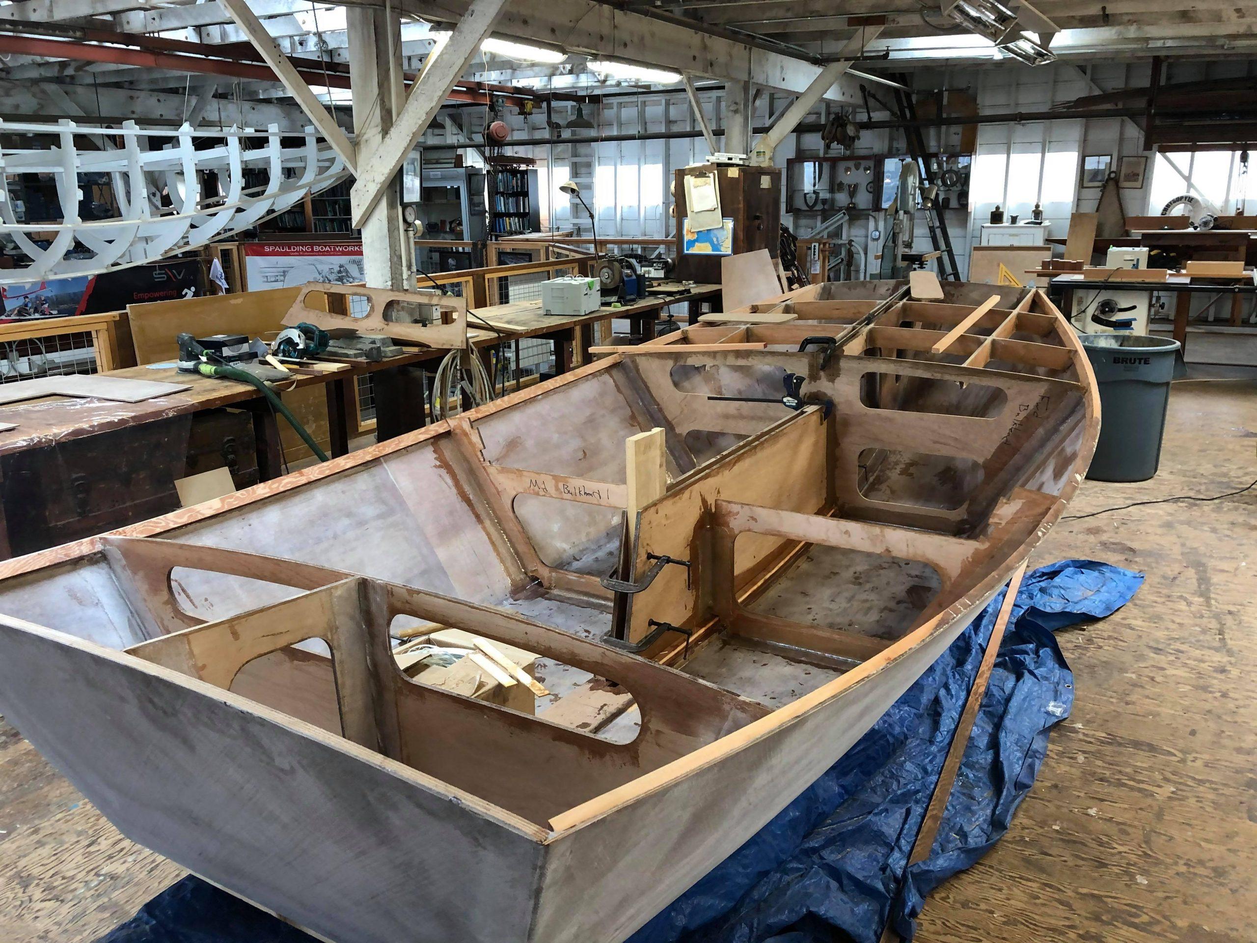 Small sailboat build