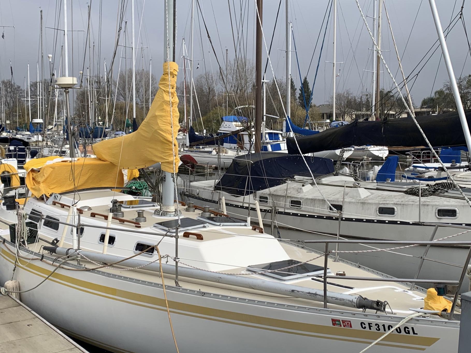 Namu II at the dock