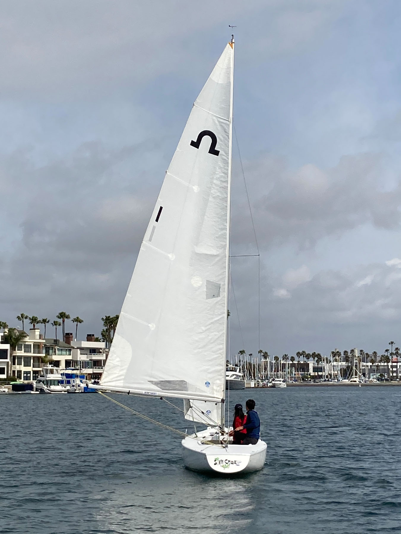 Long Beach Yacht Club Solings
