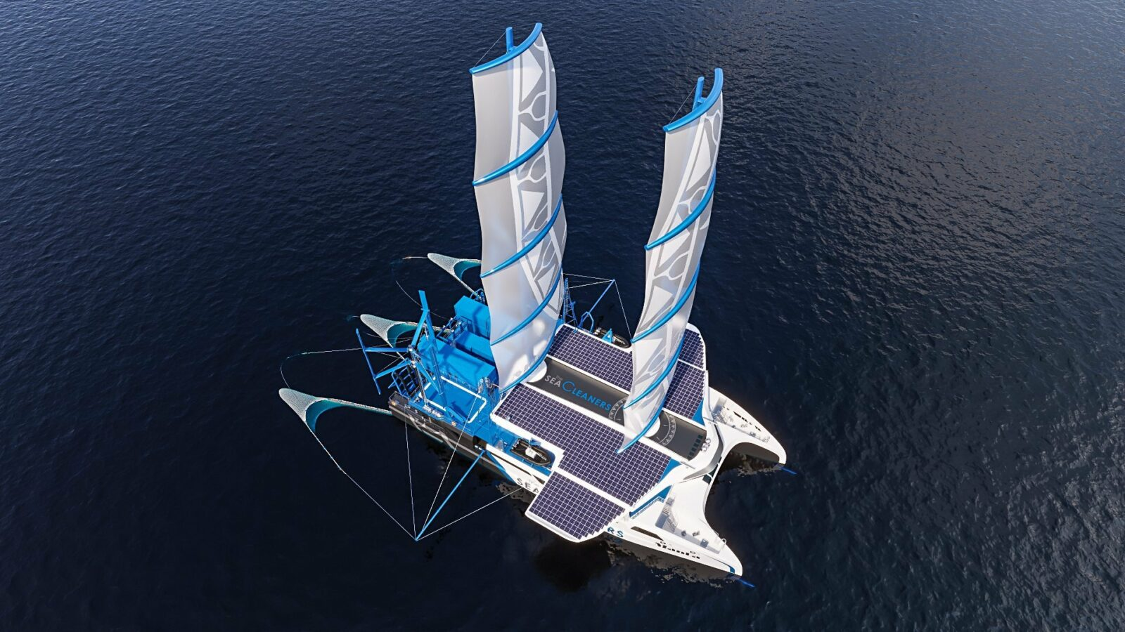 manta- giant catamaran