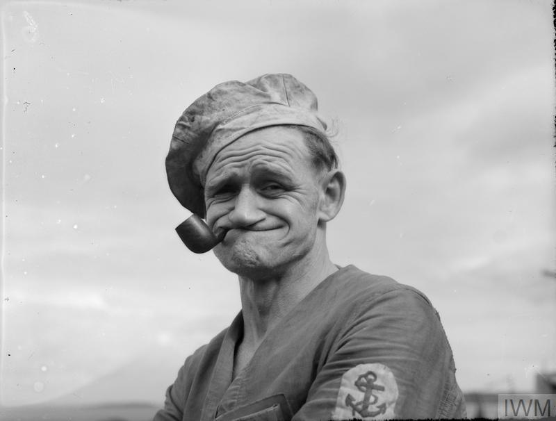 Popeye photo from Imperial War Museum