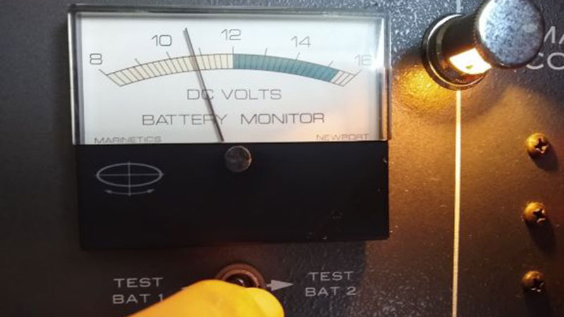 Old battery meter not working