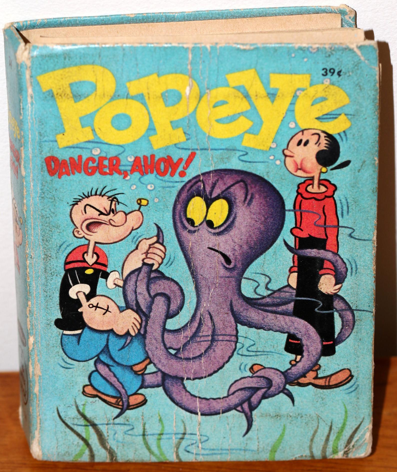 Popeye book