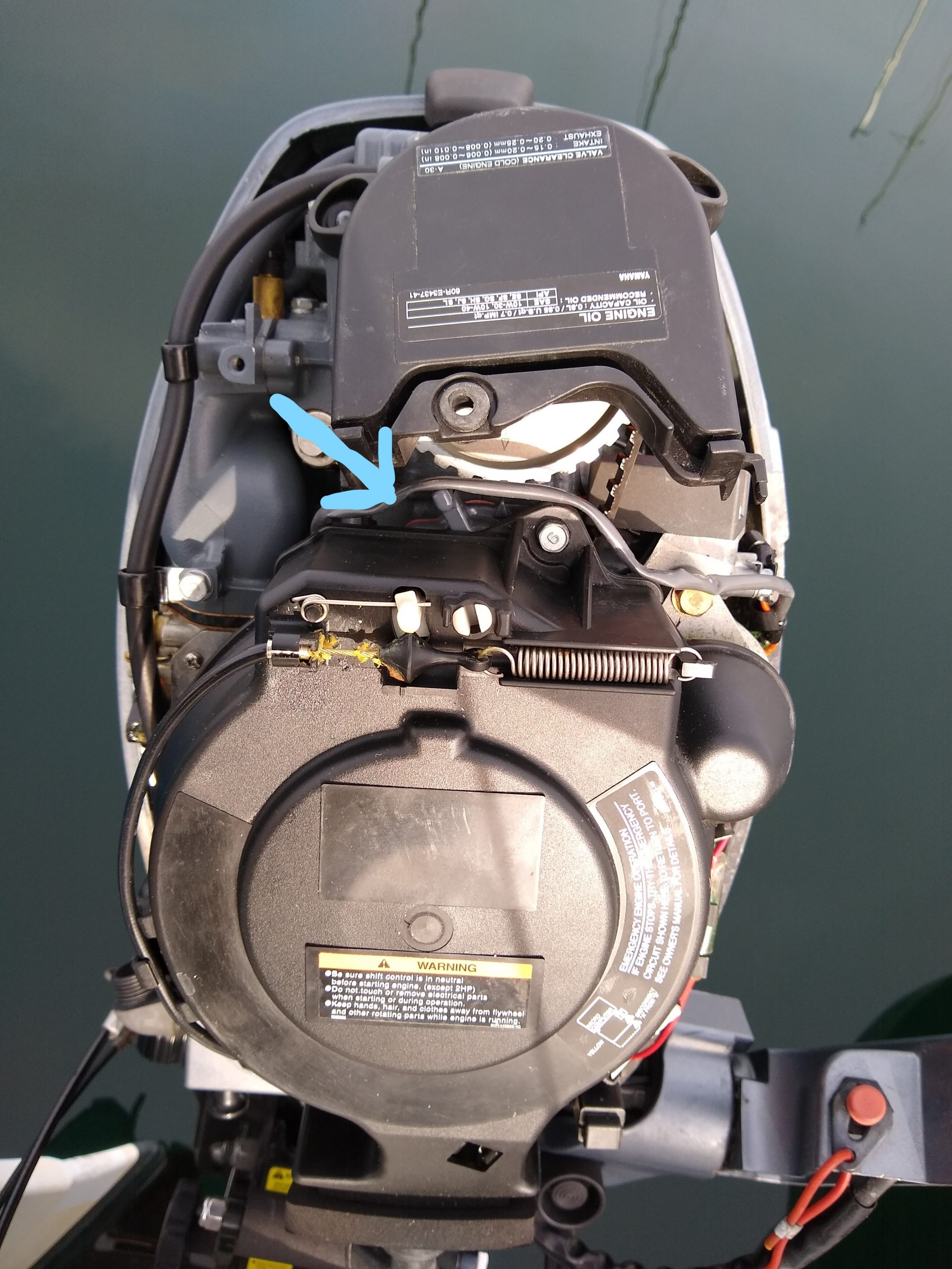 Outboard Thermostat