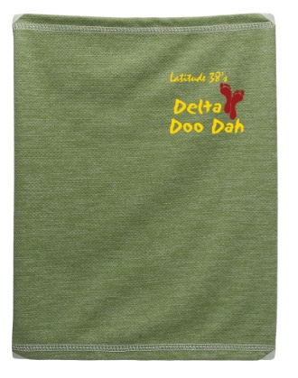 green Delta Doo Dah neck gaiter