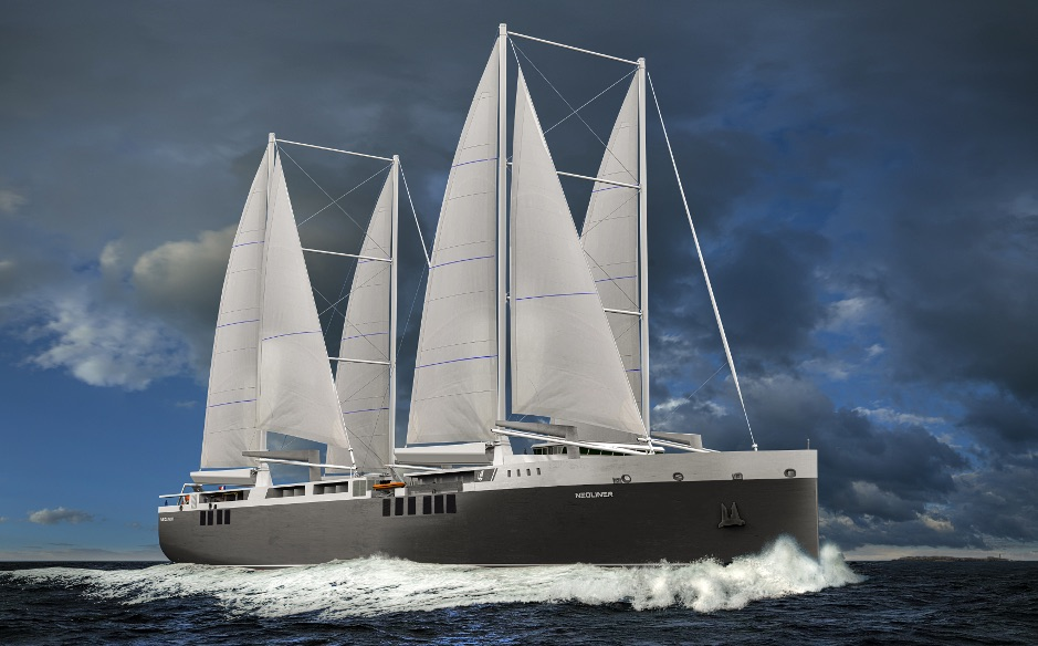 industry will use sail power to transport
