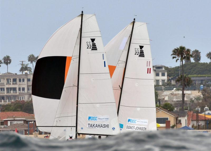 Governors Cup 22s racing off Newport Beach