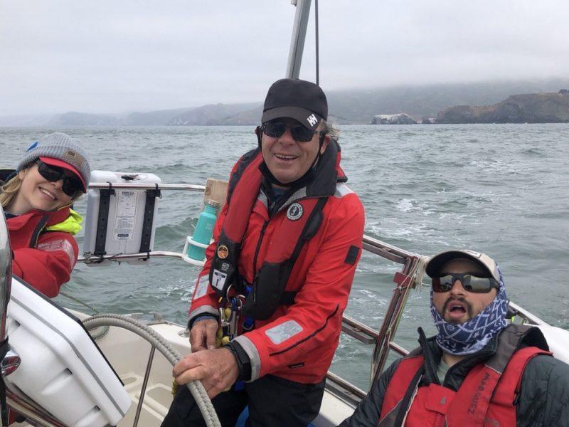April Sailing