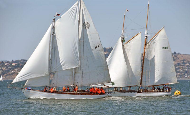 Mayan and Brigadoon at the A buoy