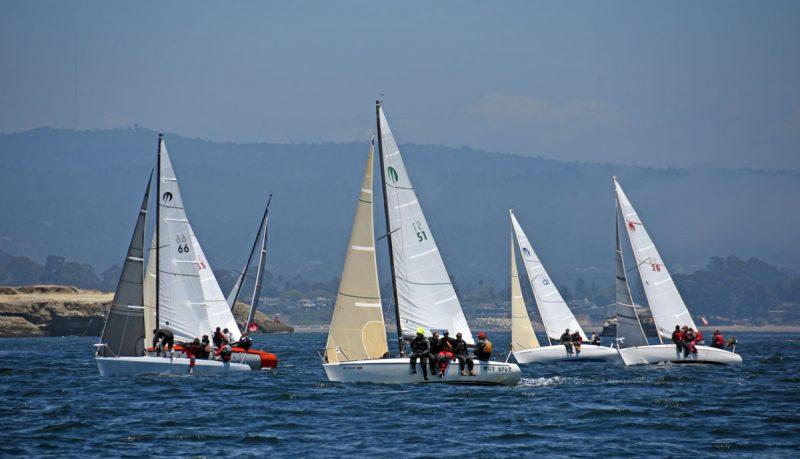 Moore 24s racing in Santa Cruz