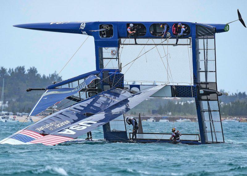 USA capsized