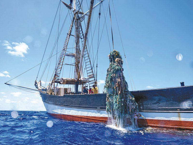Kwai hauling nets