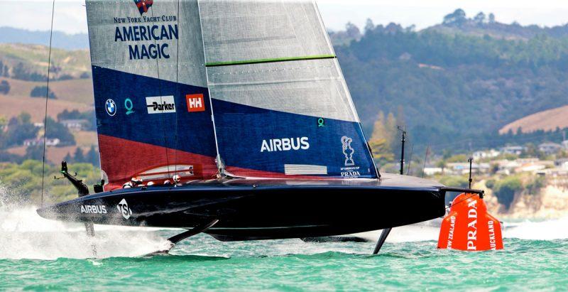 Patriot sailing in Auckland