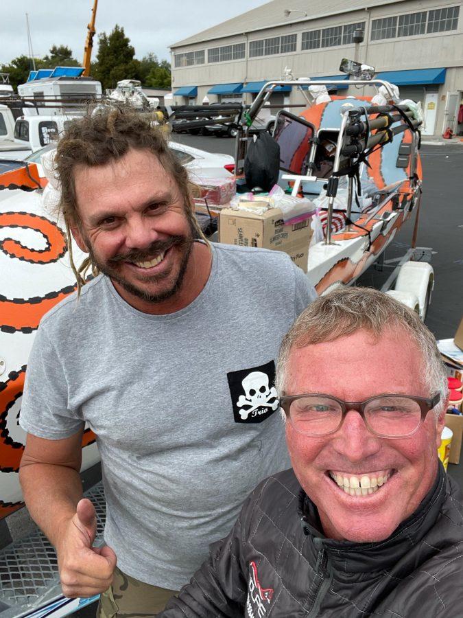 Aussie rower and Sean Svendson