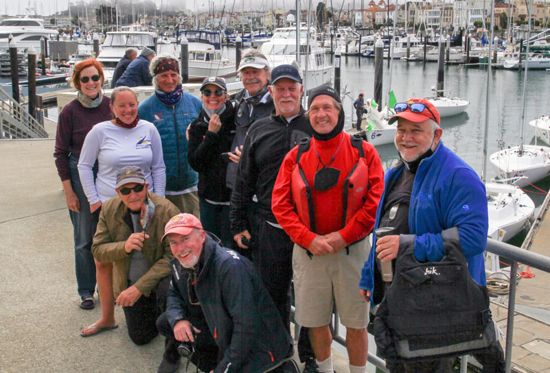 race committee on the wharf