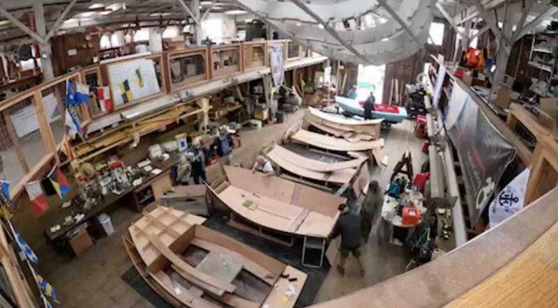 Spaulding boat build