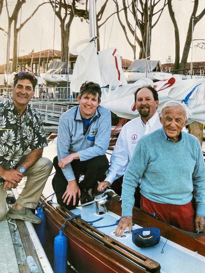 Snaps III crew with Knud Wibroe