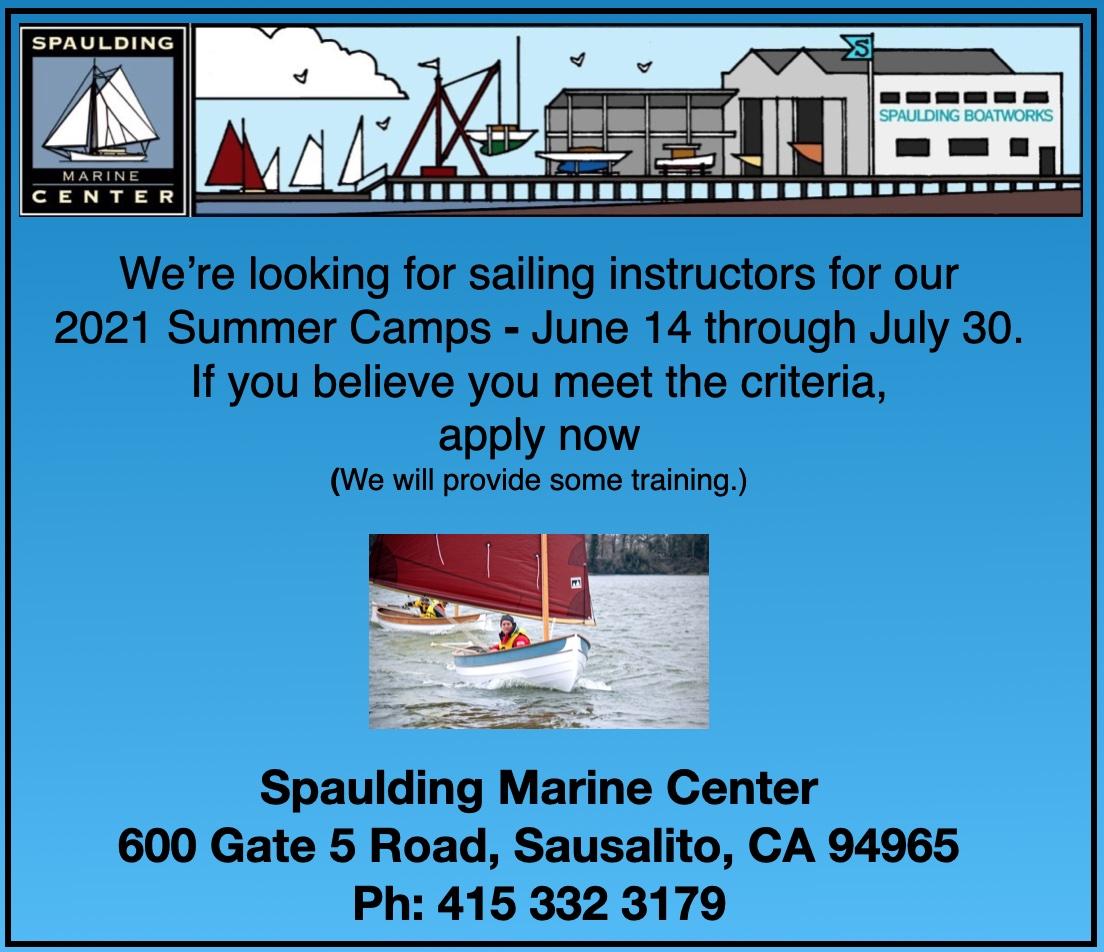 Spaulding Marine Center sailing instructors
