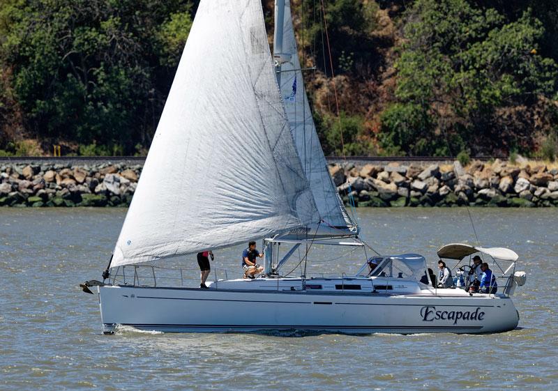Dufour 44 Escapade in Carquinez Strait