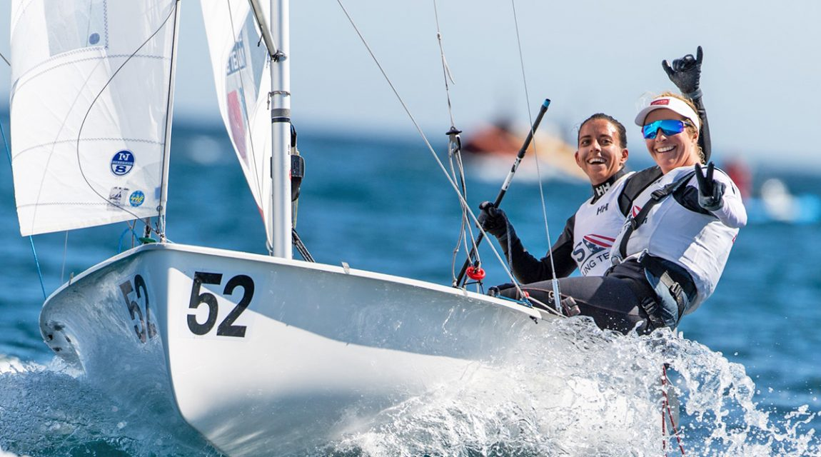 US Olympic sailors