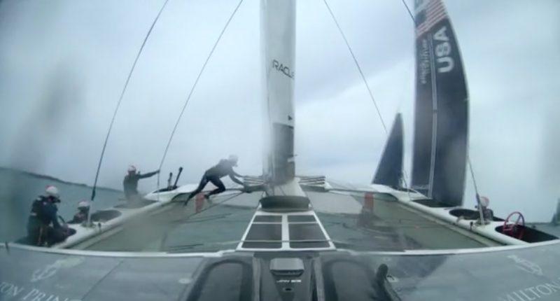 Crash in Bermuda