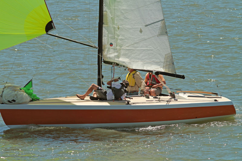 Nelly Belle sailing