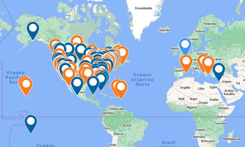 Summer Sailstice map