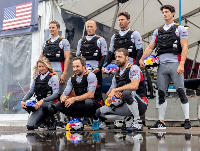 US SailGP crew