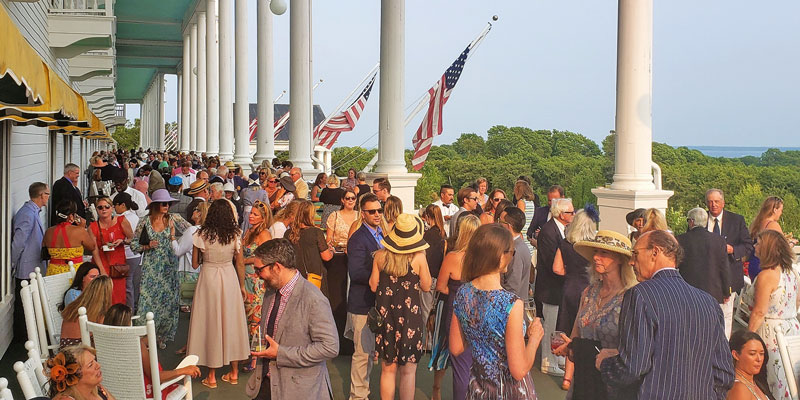 Grand Hotel Porch Party