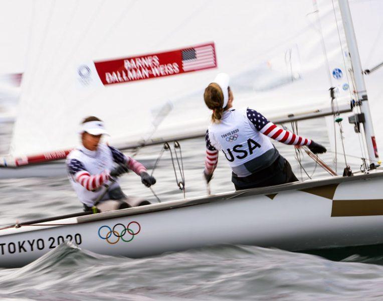 USA Women's 470 team