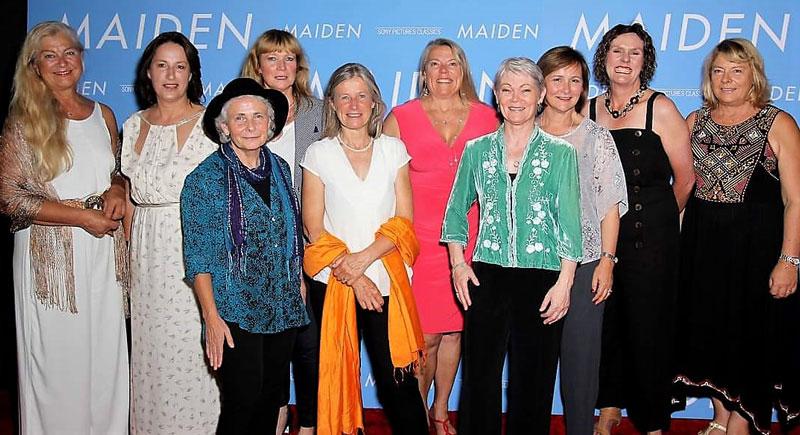 Maiden cast (crew)