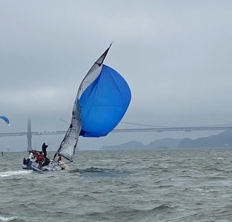 Sapphire twisted spinnaker