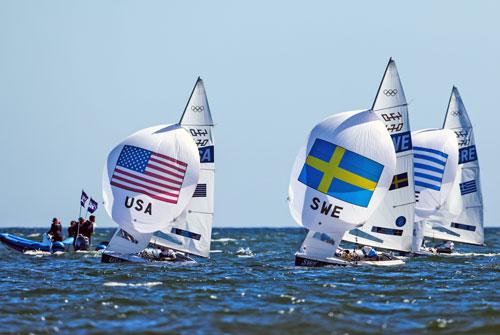 USA 470 leading