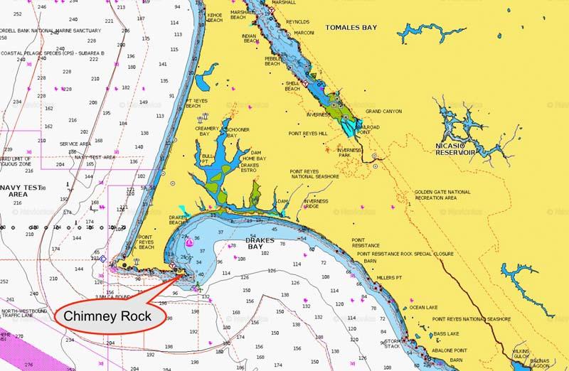 Chimney Rock Drake's Bay
