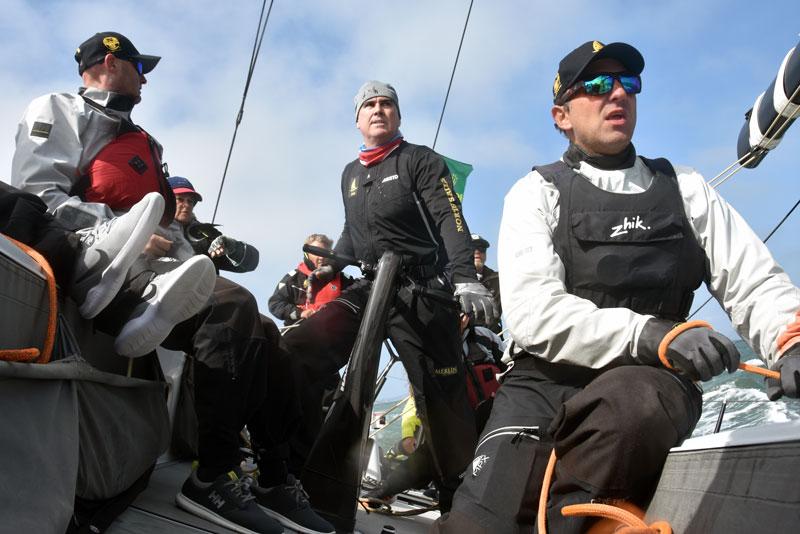 cockpit crew at the start