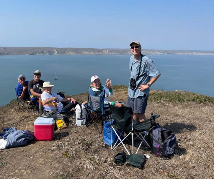 Drake's Bay Race Committee at Chimney Rock