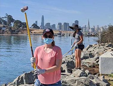 Coastal Cleanup on Treasure Island