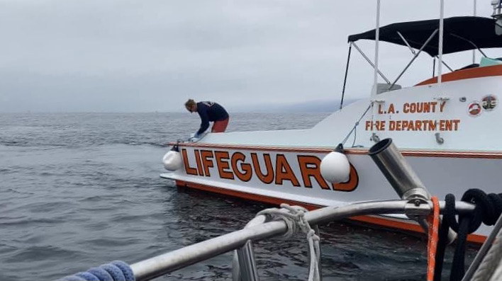 Life Guard rescue boat