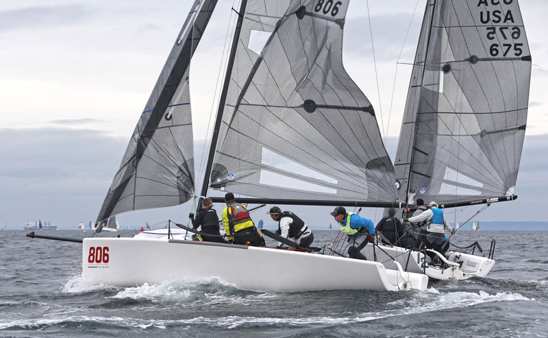 Two Melges 24s