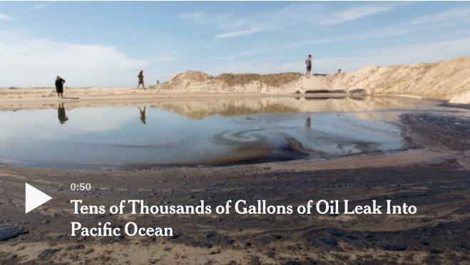 Southern California Oil Spill
