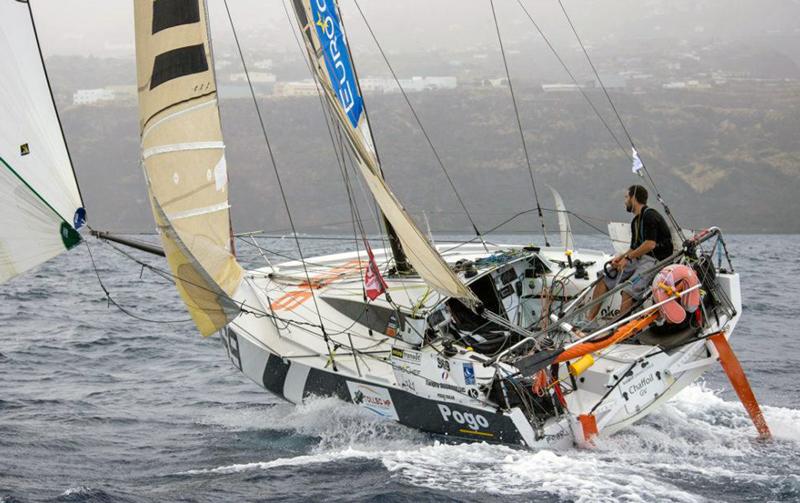 Tanguy Bouroullec finish in La Palma